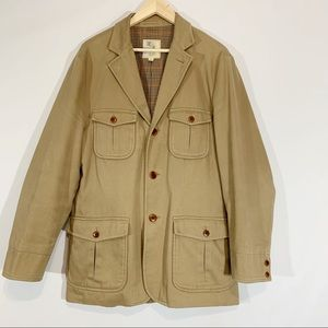 Brooks Brothers Cotton Chore Jacket Field Coat M